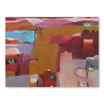 Americanflat Valley of Kasbahs Art Print Wrapped on Canvas