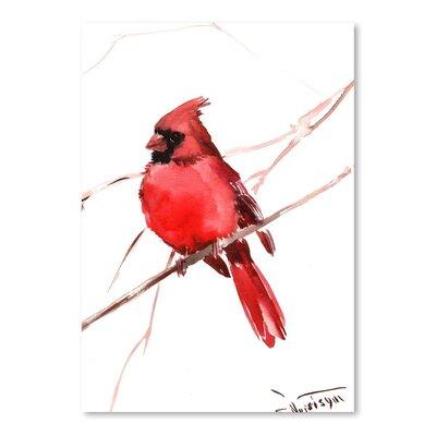 Americanflat Cardinal by Suren Nersisyan Art Print