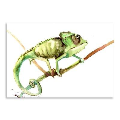 Americanflat Chameleon by Suren Nersisyan Art Print