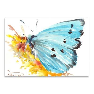 Americanflat Holly Blue Butterfly 2 by Suren Nersisyan Art Print