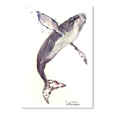 Americanflat Humpback Whale 21 by Suren Nersisyan Art Print