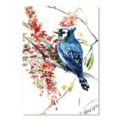 Americanflat Blue Jay 9 by Suren Nersisyan  Art Print