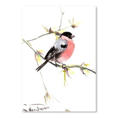 Americanflat Bullfinch 3 by Suren Nersisyan Art Print