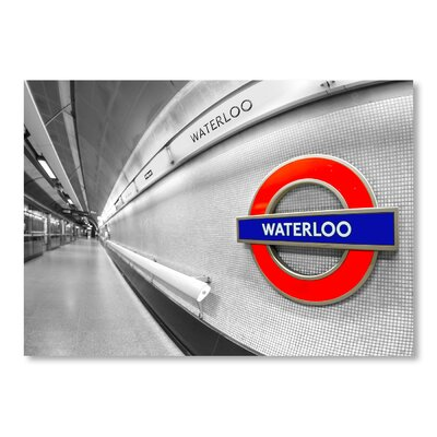 Americanflat Waterloo Subway Photographic Print