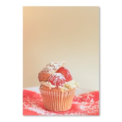 Americanflat Cup Cake Photographic Print