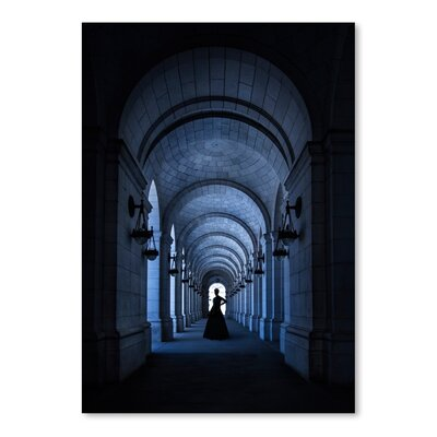 Americanflat Girl in Dark Photographic Print