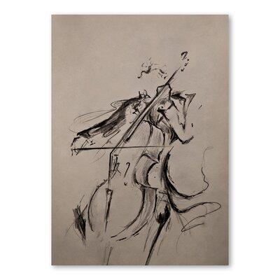 Americanflat The Cellist Art Print