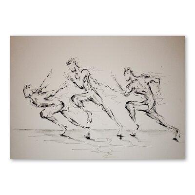 Americanflat Three Blind Mice Art Print