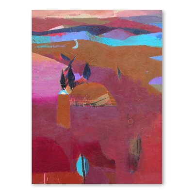 Americanflat Ridge Art Print Wrapped on Canvas