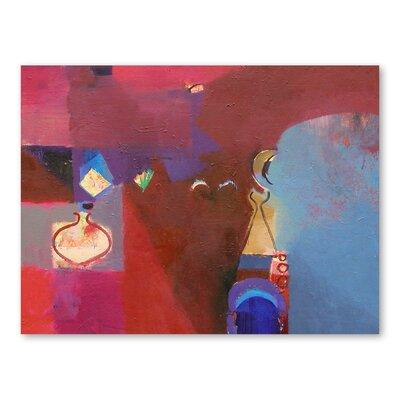 Americanflat Cinnabar Light Art Print Wrapped on Canvas