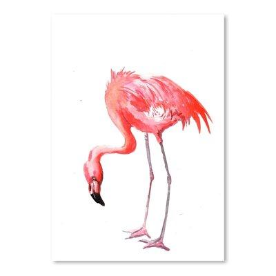 Americanflat Flamingo Art Print
