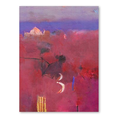 Americanflat Dades Valley Reds Art Print Wrapped on Canvas
