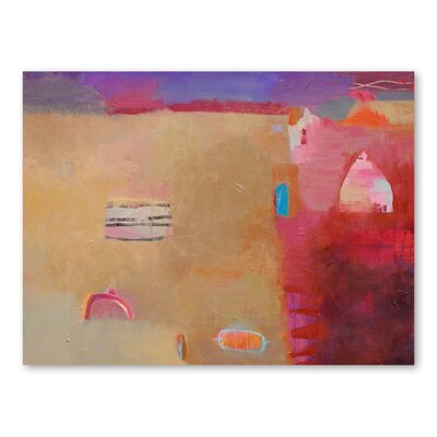 Americanflat Desert Artefacts Art Print Wrapped on Canvas