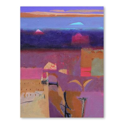 Americanflat Draa Valley Kasbahs Art Print Wrapped on Canvas