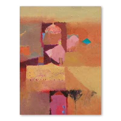 Americanflat Desert Domes Art Print Wrapped on Canvas