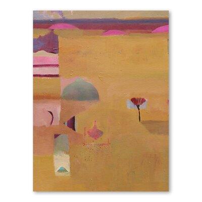 Americanflat Desert Li Art Print Wrapped on Canvas