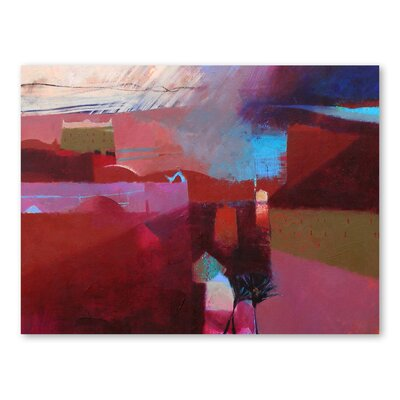 Americanflat Kasbah Cast Shadows Art Print Wrapped on Canvas