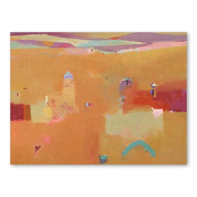 Americanflat Domed Minaret Art Print Wrapped on Canvas