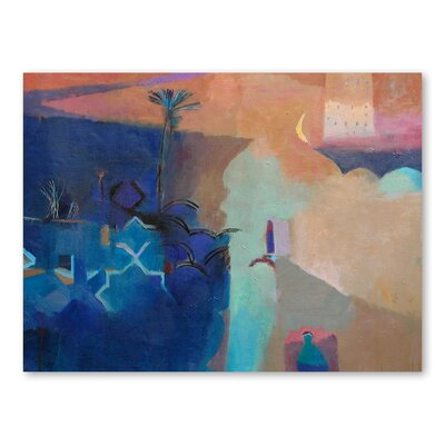Americanflat Door To the Kasbah Art Print Wrapped on Canvas