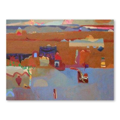 Americanflat Lakeside Dwellings Art Print