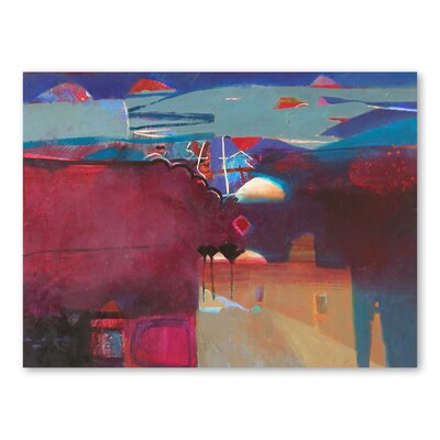 Americanflat Marrakech Art Print Wrapped on Canvas