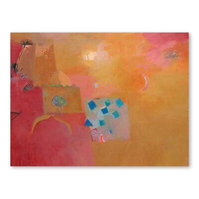 Americanflat Meknes Dawn Art Print Wrapped on Canvas