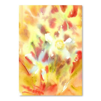Americanflat Abstract Flowers Art Print