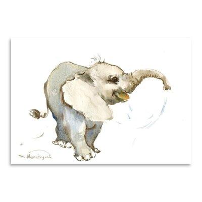 Americanflat Baby Elephant Art Print