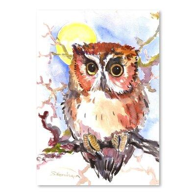 Americanflat Baby Owl Art Print