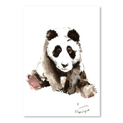 Americanflat Baby Panda by Suren Nersisyan Art Print