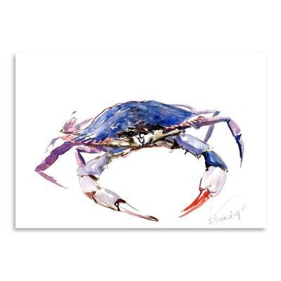 Americanflat Blue Crab by Suren Nersisyan Art Print
