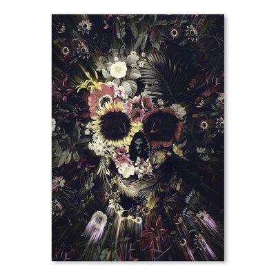 Americanflat Garden Skull Graphic Art