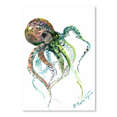 Americanflat Octopus 2 by Suren Nersisyan Art Print