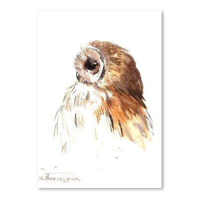 Americanflat Owl 7 by Suren Nersisyan Art Print