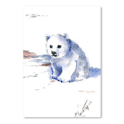 Americanflat Polar Bear by Suren Nersisyan Art Print