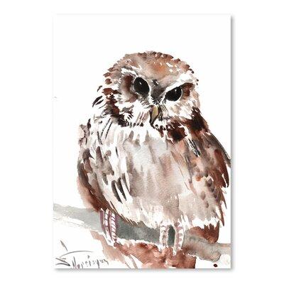Americanflat Owl 5 by Suren Nersisyan Art Print