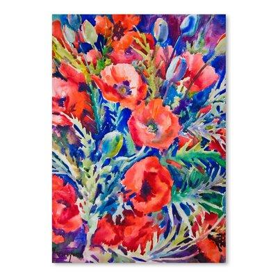 Americanflat Poppies Art Print
