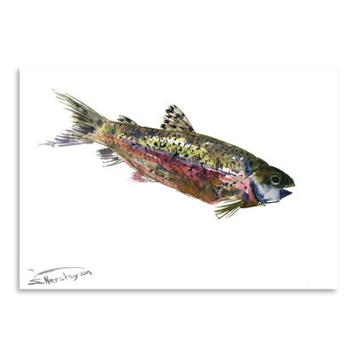 Americanflat Rainbow Trout by Suren Nersisyan Art Print