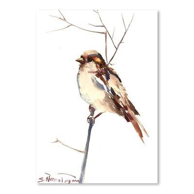 Americanflat Sparrow 4 by Suren Nersisyan Art Print
