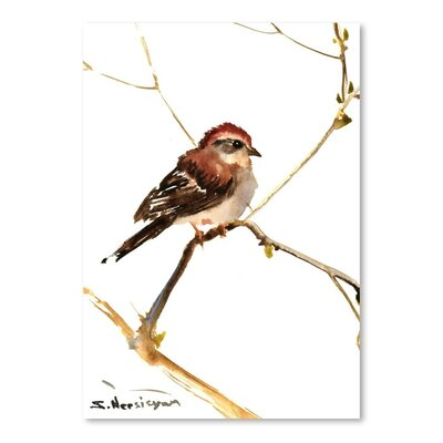 Americanflat Sparrow 7 by Suren Nersisyan Art Print