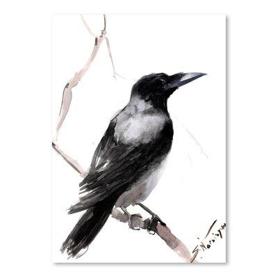 Americanflat Hodded Crow 2 by Suren Nersisyan Art Print