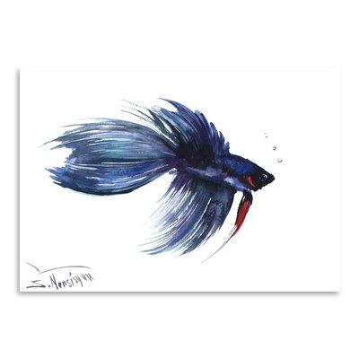 Americanflat Beta Fish 3 by Suren Nersisyan Art Print