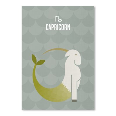 Americanflat Capricorn Graphic Art