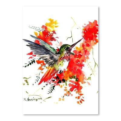 Americanflat Hummingbird 18 by Suren Nersisyan Art Print