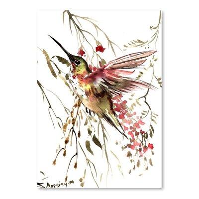 Americanflat Hummingbird 12 by Suren Nersisyan Art Print