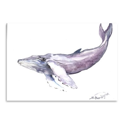 Americanflat Humpback Whale 2 by Suren Nersisyan Art Print