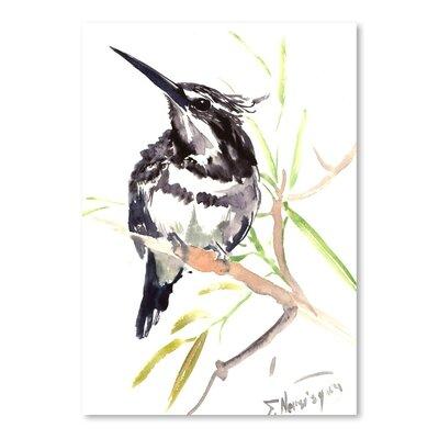 Americanflat Kingfisher by Suren Nersisyan Art Print