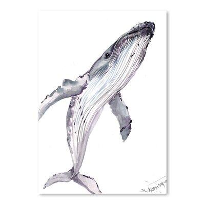 Americanflat Humpback Whale by Suren Nersisyan Art Print