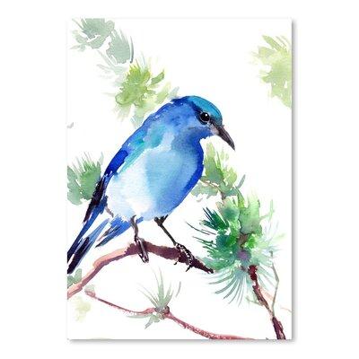 Americanflat Mountain Bluebird by Suren Nersisyan Art Print