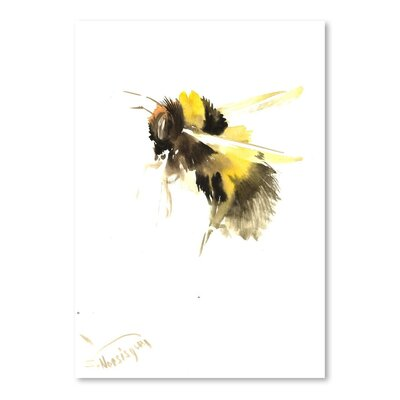 Americanflat Bumble Bee 2 by Suren Nersisyan Art Print